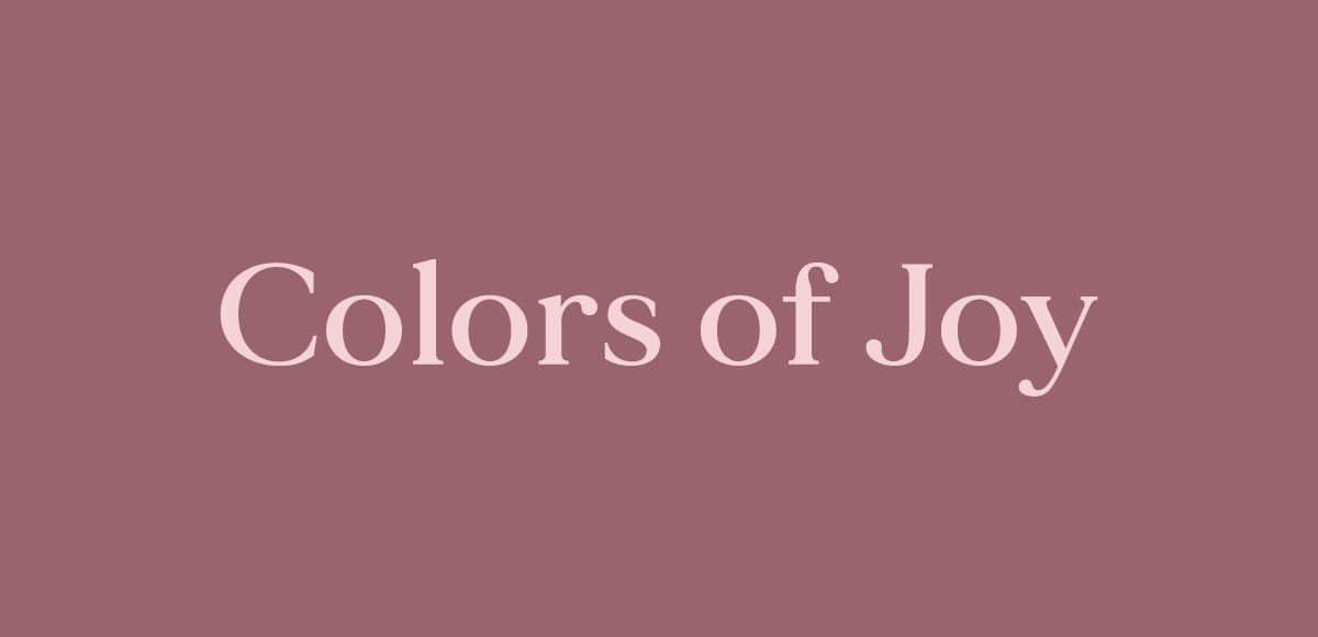 olors of Joy logotype