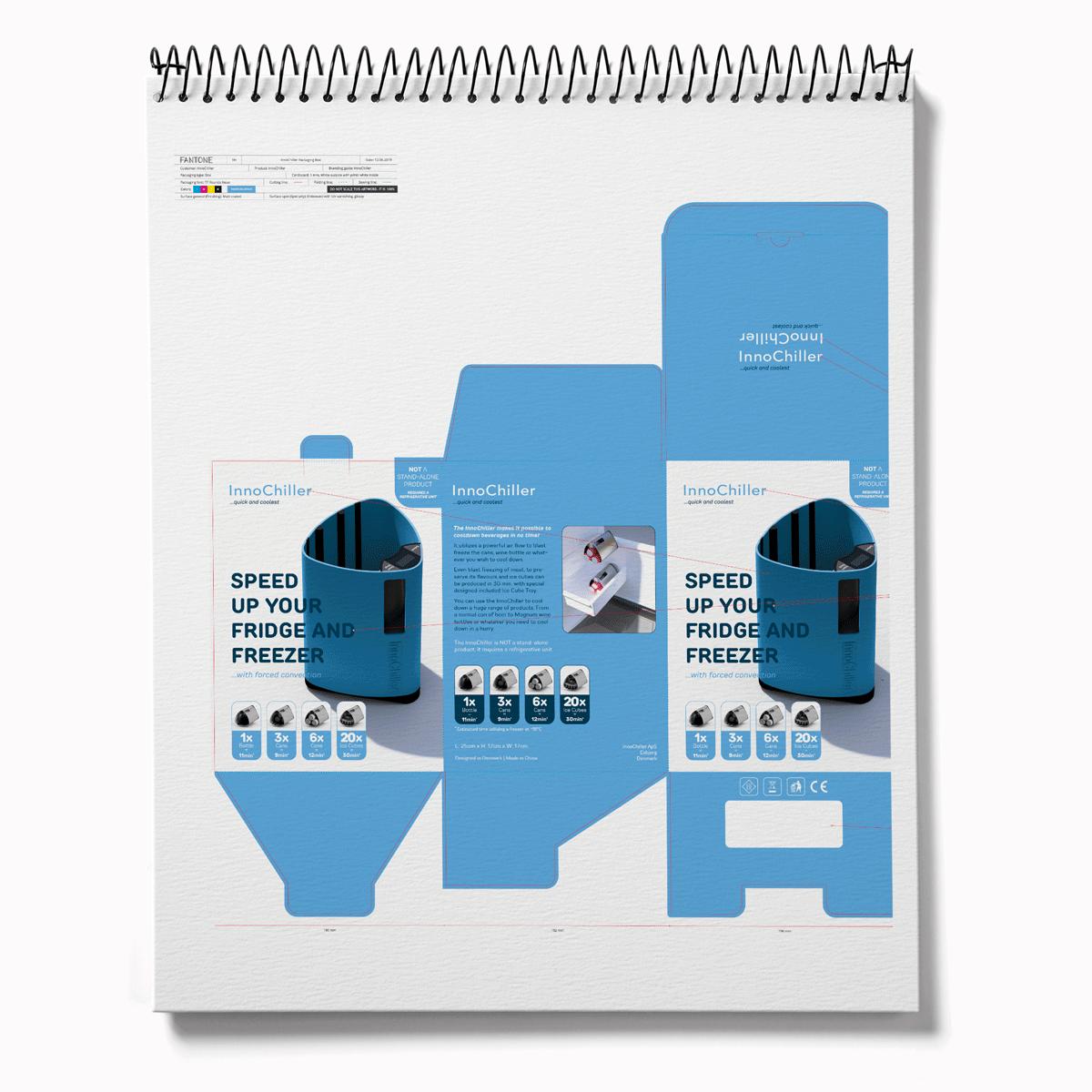 Innochiller emballagedesign