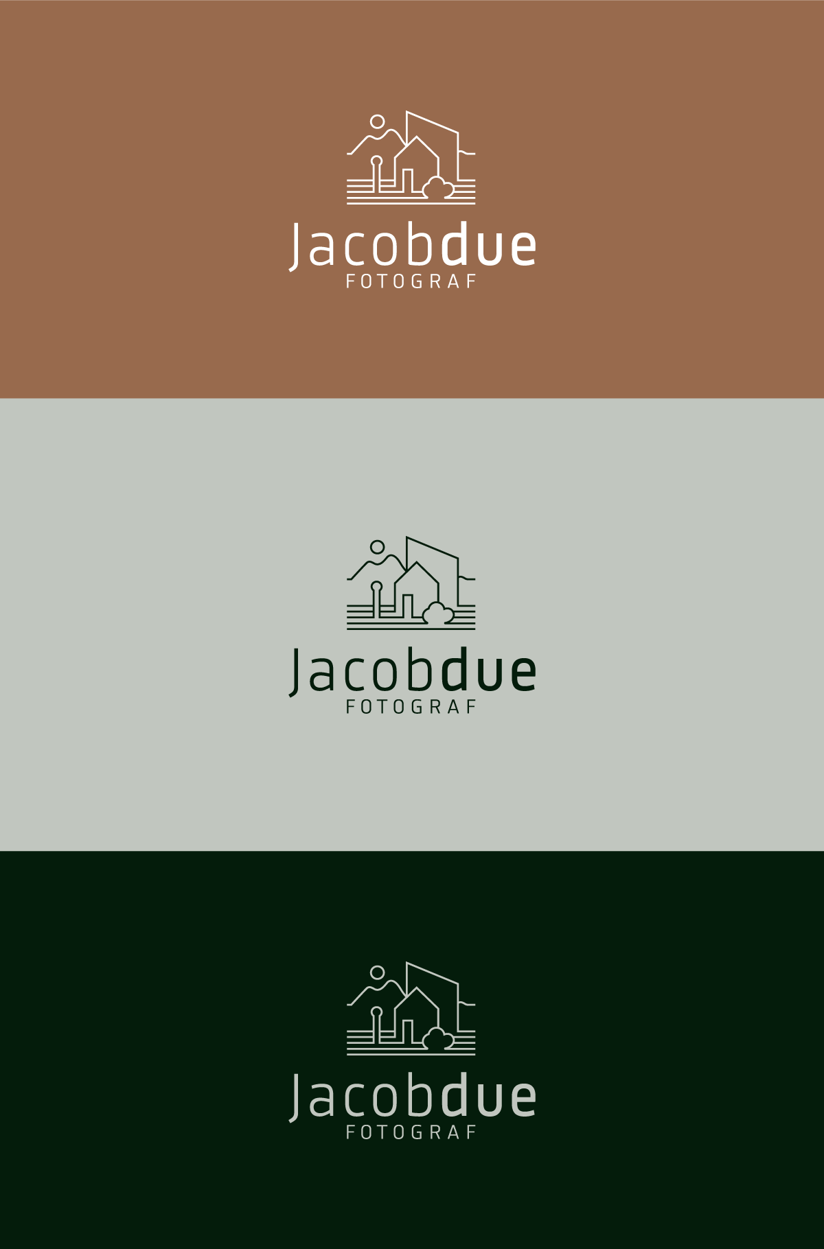 Jacob Due Logo versioner