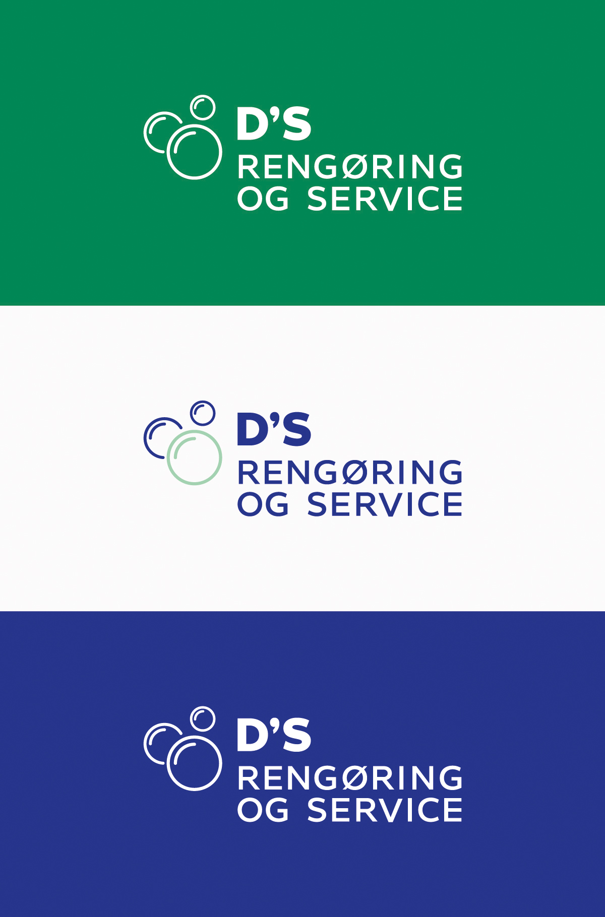 D'S Rengøring og Service Logoer