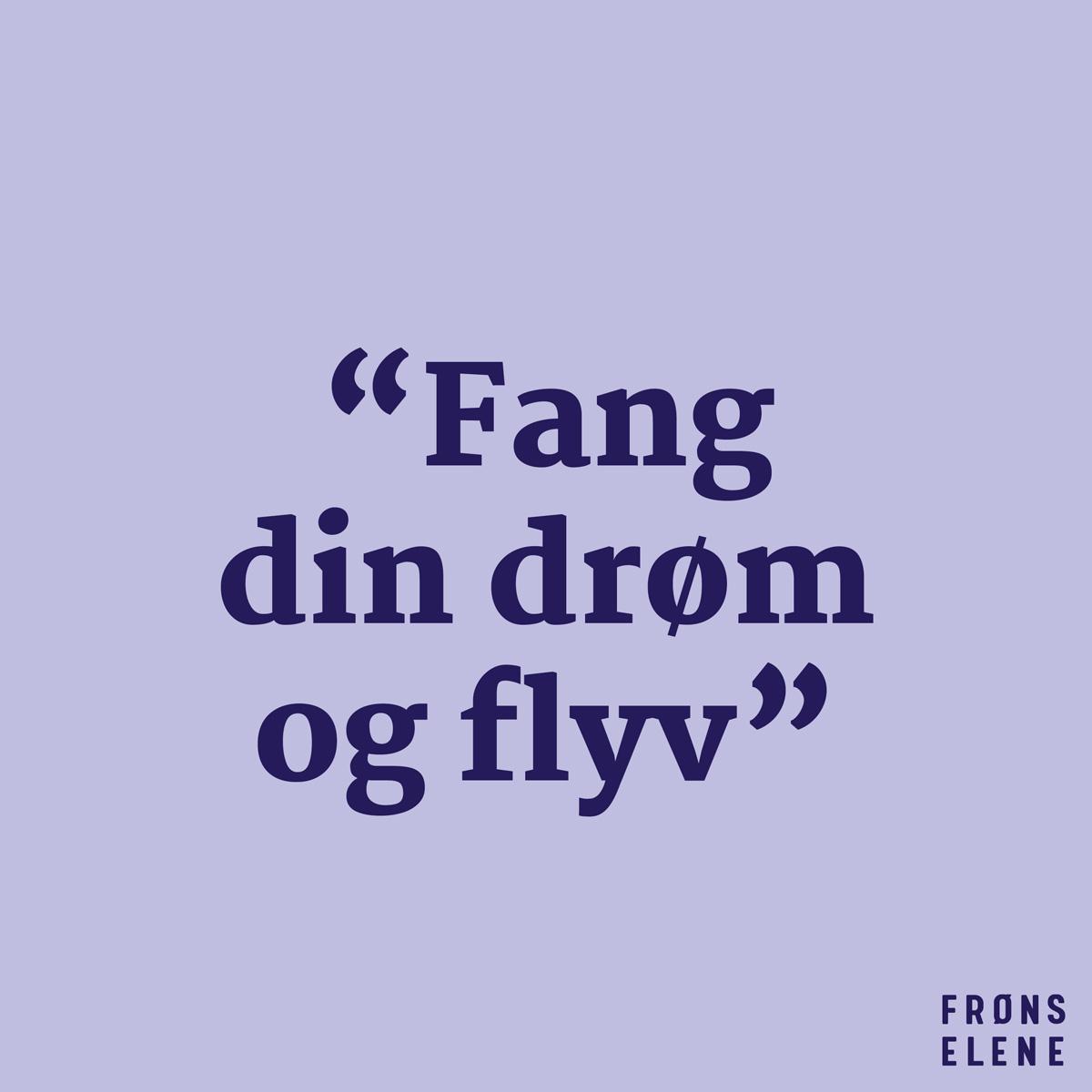Frøns Elene statement