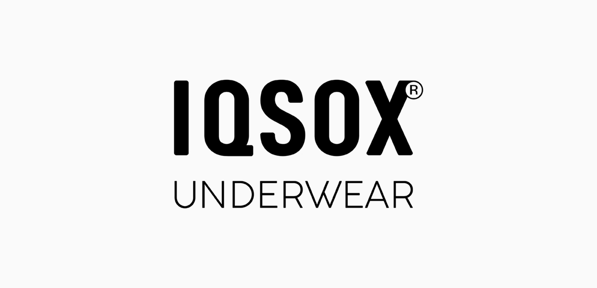 IQ sox underwear logo