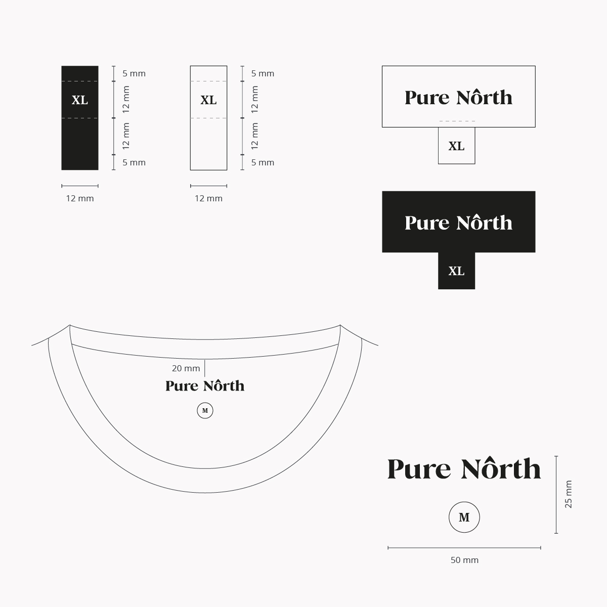 Pure North Labels