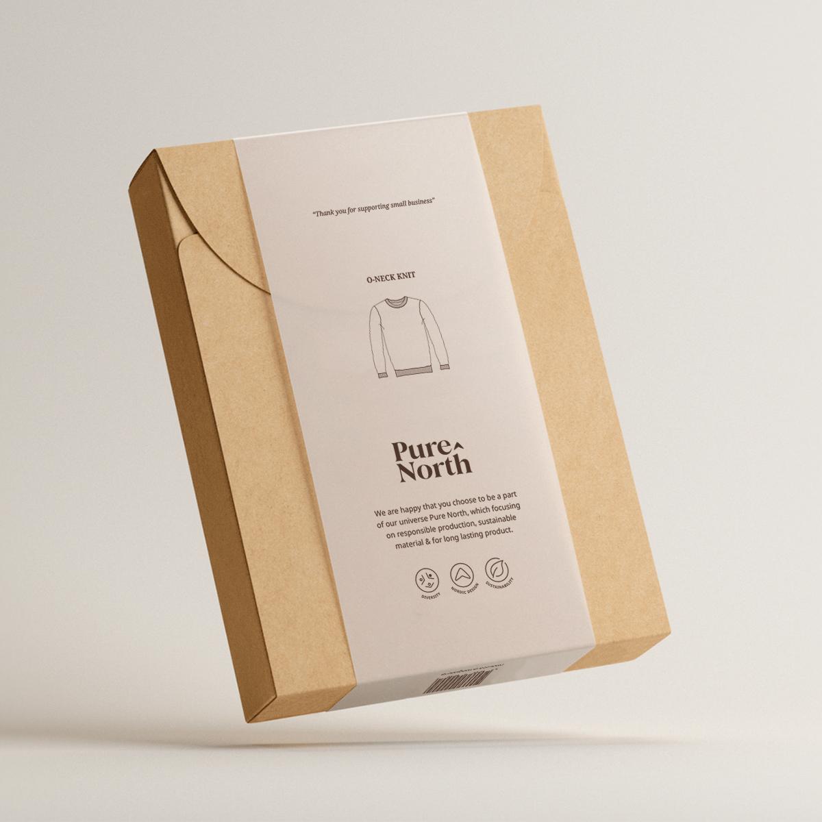 Emballage design til Pure North
