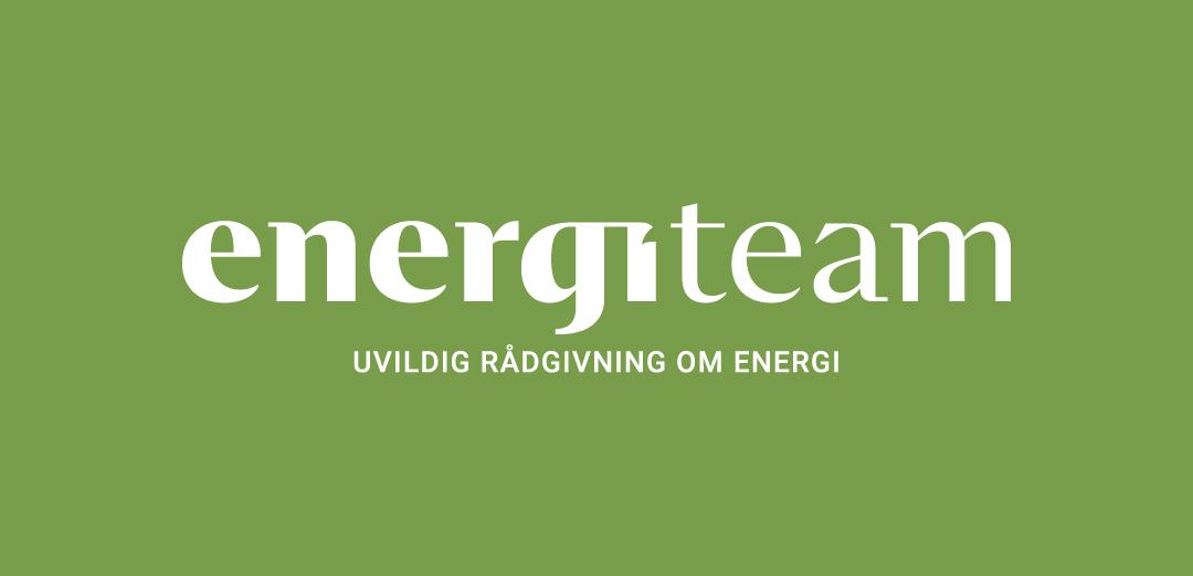 Hvidt logo til Energiteam