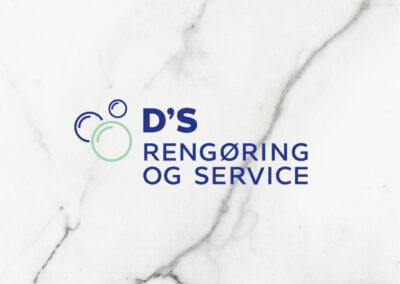 DS Rengøring og Service Logo